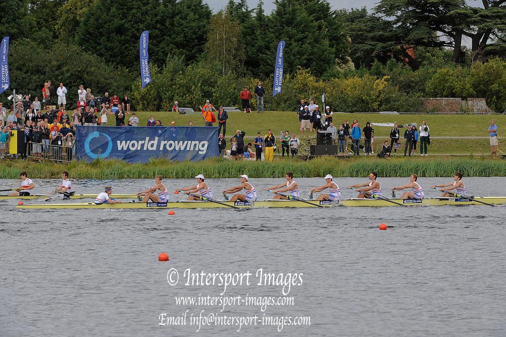 Eton. Great Britain. JM8+, Final , FISA Junior  World Rowing Championships. Dorney Lake, Nr Windsor. Saturday, 06/08/2011 [Mandatory credit: Intersport Images]