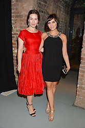 Left to right, actress MAIMIE McCOY and actress ANNABEL SCHOLEY at the SeriousFun Children's Network London Gala held at The Roundhouse, Chalk Farm Road, London on 3rd November 2016.