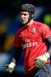Petr Cech of Arsenal looks on - Mandatory byline: Rogan Thomson/JMP - 07966 386802 - 19/09/2015 - FOOTBALL - Stamford Bridge Stadium - London, England - Chelsea v Arsenal - Barclays Premier League.