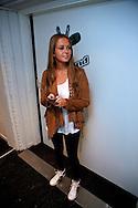 BUSSUM - In theater het Spant is de persviewing van The Voice Of Holland gehouden.  Met op de foto zangeres en presentatrice Monique Smit. FOTO LEVIN DEN BOER - PERSFOTO.NU