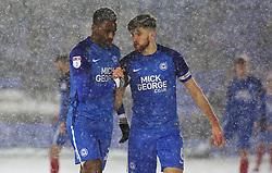 Peterborough United goal scorers Omar Bogle and Jack Baldwin - Mandatory by-line: Joe Dent/JMP - 27/02/2018 - FOOTBALL - ABAX Stadium - Peterborough, England - Peterborough United v Walsall - Sky Bet League One