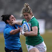 L'Aquila 12/02/2017 Stadio Fattori<br /> RBS 6 nations women 2017<br /> Italia vs Irlanda<br /> Alison Miller