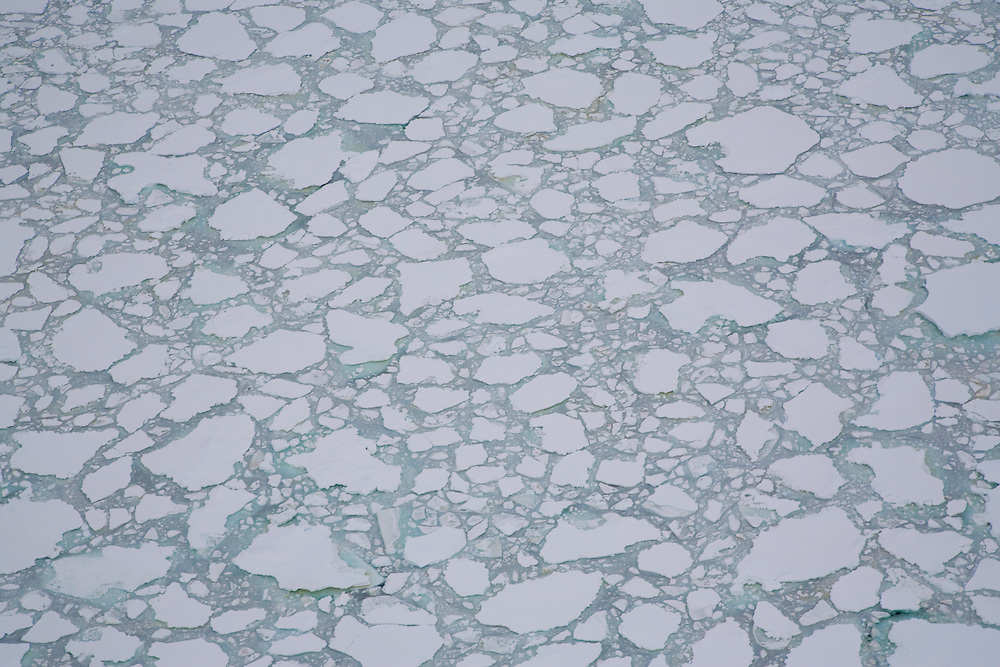 February 24th 2007. Ross Sea. Southern Ocean. Sea ice in the Ross Sea.