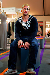 UK ENGLAND LONDON 13FEB07 - Slavko (28), clothing buyer from Berlin  attends London Fashion Week at the main site next to the Natural History Museum, Kensington, central London...jre/Photo by Jiri Rezac..© Jiri Rezac 2007..Contact: +44 (0) 7050 110 417.Mobile:  +44 (0) 7801 337 683.Office:  +44 (0) 20 8968 9635..Email:   jiri@jirirezac.com.Web:    www.jirirezac.com..© All images Jiri Rezac 2007 - All rights reserved.