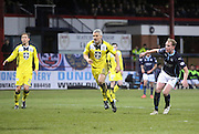 Gary Irvine nets Dundee consolation goal  - Dundee v St Mirren, SPFL Premiership at <br /> Dens Park<br /> <br />  - &copy; David Young - www.davidyoungphoto.co.uk - email: davidyoungphoto@gmail.com