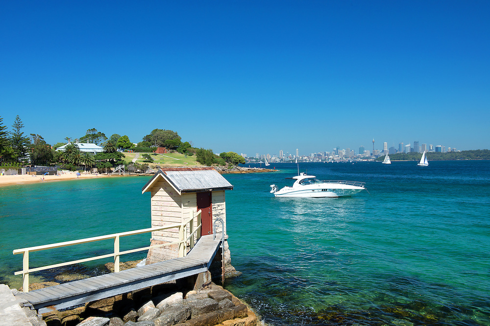Camp Cove at Watsons Bay of Sydney