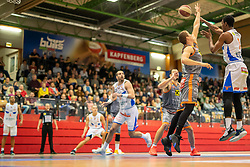 13.04.2019, SPH Walfersam, Kapfenberg, AUT, Admiral BBL, Kapfenberg Bulls vs Raiffeisen Fürstenfeld Panthers, 33. Runde, im Bild Xavie Ford (Kapfenberg Bulls) // during the Admiral Basketball league, 33th round match between Kapfenberg Bulls and Raiffeisen Fürstenfeld Panthers at the SPH Walfersam in Kapfenberg, Austria on 2019/04/13. EXPA Pictures © 2019, PhotoCredit: EXPA/ Dominik Angerer