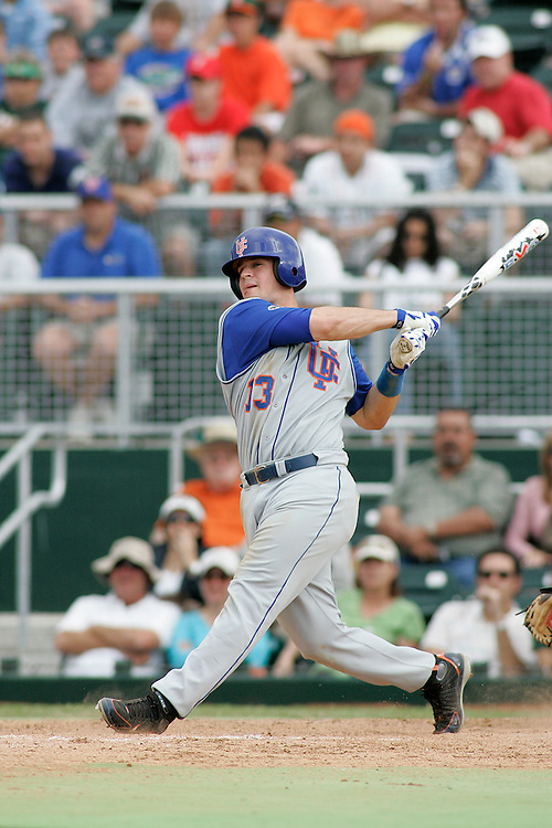 University of Florida first baseman Matt LaPorta in action during the Gators 2-1 victory over the Miami Hurricanes on February 17, 2006 at Mark Light Field in Coral Gables, Florida.
