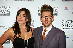 © Licensed to London News Pictures.  07/12/2012. BIRMINGHAM, UK. Model Daisy Lowe (pictured left) and Fashion designer Henry Holland (pictured right) are seen during the opening photo call for the Clothes Show Live event being held in the NEC, Birmingham. The show opens today and runs until Tuesday. Photo credit :  Cliff Hide/LNP