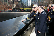 French Interior Minister visits 9/11 Memorial