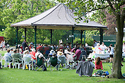 18 May 2014: Brass Band performance in East Park, Hull, by the award winning East Riding of Yorkshire Band.<br /> Picture: Sean Spencer/Hull News & Pictures Ltd<br /> 01482 772651/07976 433960<br /> www.hullnews.co.uk   sean@hullnews.co.uk