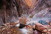 The Clear Creek narrows in Grand Canyon National Park. Mile 84.5.