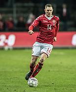 FOOTBALL: Henrik Dalsgaard (Denmark) during the friendly match between Denmark and Panama at Brøndby Stadium on March 22, 2018 in Brøndby, Copenhagen, Denmark. Photo by: Claus Birch / ClausBirch.dk.