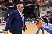 Romeo Sacchetti<br /> Banco di Sardegna Dinamo Sassari - Vanoli Cremona<br /> Legabasket Serie A LBA PosteMobile 2017/2018<br /> Sassari, 11/03/2018<br /> Foto L.Canu / Ciamillo-Castoria