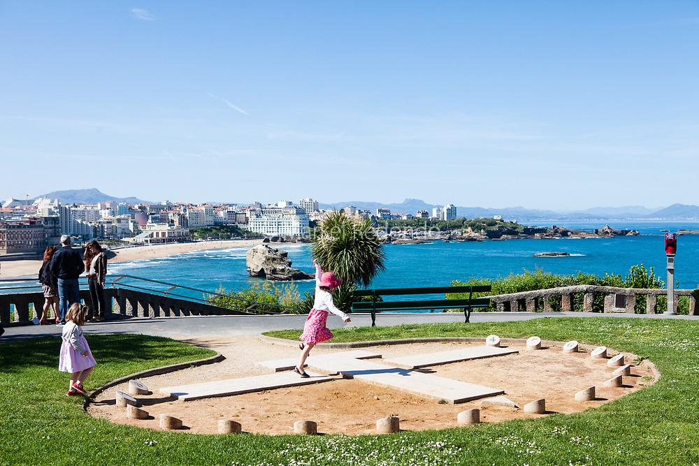 Etxola Bibi in Biarritz, France.