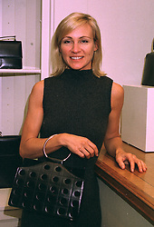 Handbag designer KATHY FORMBY at a party in London on 27th October 1997.<br /> MCM 1
