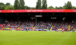 Bristol Rovers fans at Charlton Athletic - Mandatory by-line: Robbie Stephenson/JMP - 05/08/2017 - FOOTBALL - The Valley - Charlton, London, England - Charlton Athletic v Bristol Rovers - Sky Bet League One