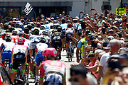 Illustration, Scenery, peloton, during the 105th Tour de France 2018, Stage 6, Brest - Mur de Bretagne Guerledan (181km) in France on July 12th, 2018 - Photo Luca Bettini / BettiniPhoto / ProSportsImages / DPPI
