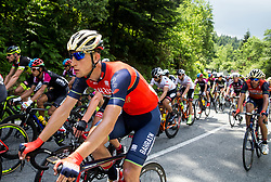 David Per (SLO) of Bahrain-Merida during Stage 3 of 24th Tour of Slovenia 2017 / Tour de Slovenie from Celje to Rogla (167,7 km) cycling race on June 16, 2017 in Slovenia. Photo by Vid Ponikvar / Sportida