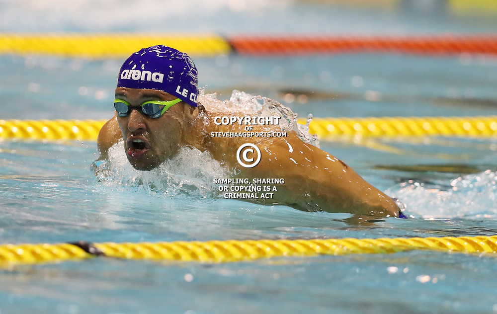 Chad Le Clos Men 200 LC Meter Butterfly Final during day 4 of the 2017 SA National Aquatic Championships at Kings Park Aquatic Centre on April 06, 2017 in Durban, South Africa. (Photo by Steve Haag)