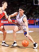 Francia 27/06/1999<br /> Campionati Europei di Basket Francia 1999<br /> Italia-Rep. Ceka<br /> Davide Bonora