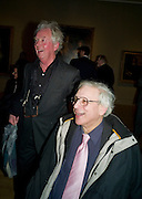 JOHN LE SAUX; JOHN WONNACOTT Van Dyck private view and dinner. Tate Britain. 16 February 2009 *** Local Caption *** -DO NOT ARCHIVE -Copyright Photograph by Dafydd Jones. 248 Clapham Rd. London SW9 0PZ. Tel 0207 820 0771. www.dafjones.com<br /> JOHN LE SAUX; JOHN WONNACOTT Van Dyck private view and dinner. Tate Britain. 16 February 2009