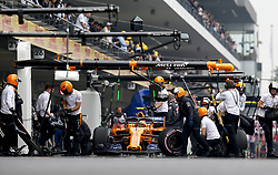 October 27, 2018 - Mexico-City, Mexico - Motorsports: FIA Formula One World Championship 2018, Grand Prix of Mexico, .#2 Stoffel Vandoorne (BEL, McLaren F1 Team) (Credit Image: © Hoch Zwei via ZUMA Wire)