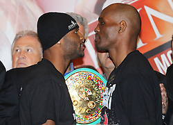 May 20, 2011; Weigh-In for the Jean Pascal vs Bernard Hopkins II fight at the Bell Centre in Montreal, CAN.