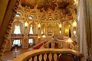 Wiesbaden, Landeshauptstadt von Hessen, Hessisches Staatstheater, Foyer
