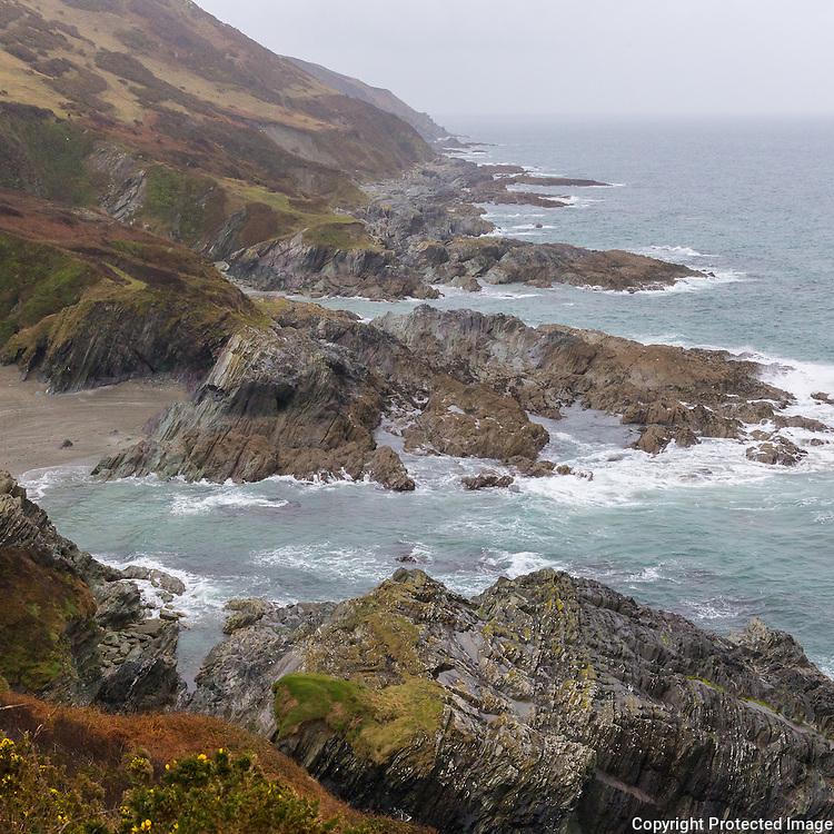 Parson's Cove from Sandheap Point, Cornwall.