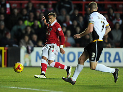 Bristol City's James Tavernier crosses  - Photo mandatory by-line: Joe Meredith/JMP - Mobile: 07966 386802 - 10/02/2015 - SPORT - Football - Bristol - Ashton Gate - Bristol City v Port Vale - Sky Bet League One