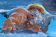 PERTH, AUSTRALIA - FEBRUARY 06:  Mitch Larkin of Australia competes in the Men's 200 Metre Backstroke during the 2016 Aquatic Superseries at HBF Stadium on February 6, 2016 in Perth, Australia.  (Photo by Paul Kane/Getty Images) *** Local Caption *** Mitch Larkin