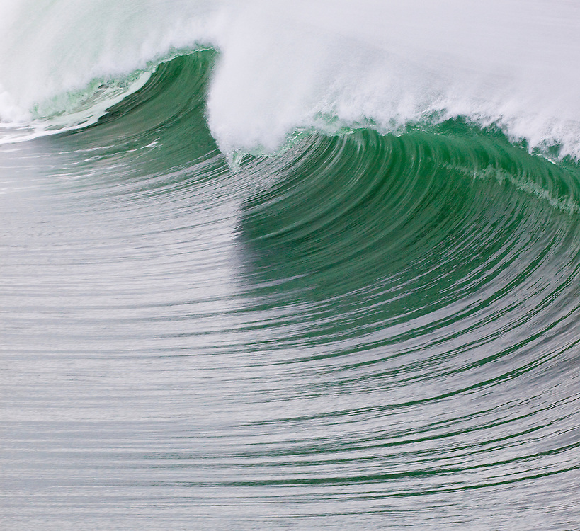 WIDE SHOTS AND CLOSE UPS OF HERMOSA BEACH OCEAN WAVES