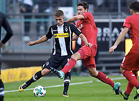 v.l. Thorgan Hazard, Jonas Hector (Koeln)<br /> Moenchengladbach, 20.08.2017, Fussball Bundesliga, Borussia Moenchengladbach - 1. FC Köln 1:0<br /> <br /> Norway only