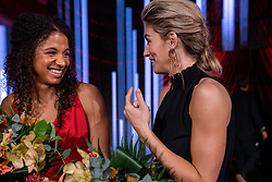 18-12-2019 NED: Sports gala NOC * NSF 2019, Amsterdam<br /> The traditional NOC NSF Sports Gala takes place in the AFAS in Amsterdam / Delaila Amega, Estavana Polman