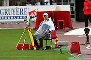 30.6.2012, Olympiastadion - Olympic Stadium, Helsinki, Finland..European Athletics Championship - Yleisurheilun EM-kisat..Heittopaikan toimitsija.