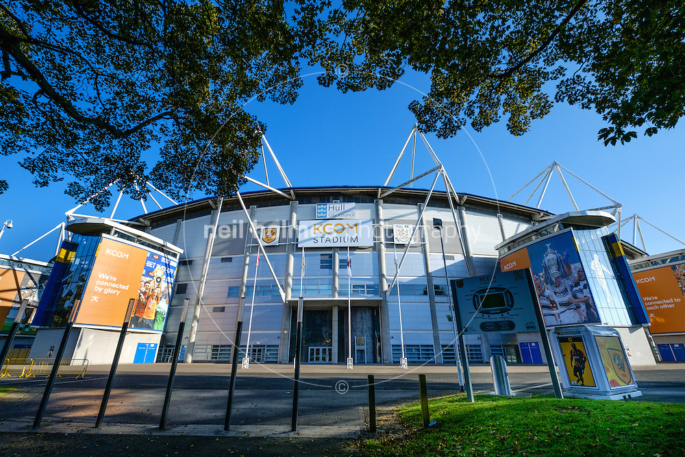 Kcom Stadium, Kingston Upon Hull, East Yorkshire, United Kingdom, 25 October, 2016. Pictured: Kcom Stadium
