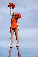 University of Illinois Fighting Illini Cheerleader at 2008 Tournament of Roses Parade, Pasadena, California