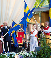 Stockholm, 06-06-2015 <br /> <br /> Swedish Royal Family attend the celebrations on the occasion of the Swedish National Day at Skansen<br /> <br /> Photo:Royalportraits Europe/Bernard Ruebsamen
