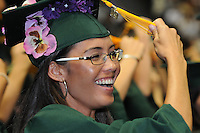 UH Manoa Commencement 2009