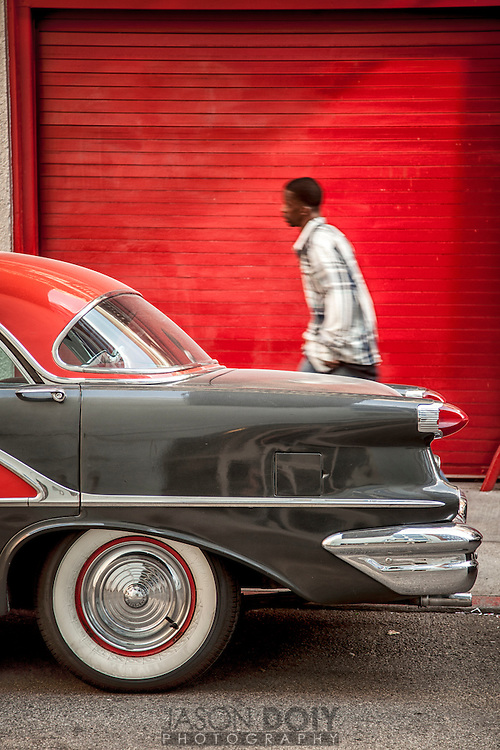 An Oldsmobile Holiday.<br /> <br /> photo by Jason Doiy