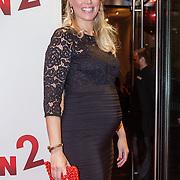 NLD/Amsterdam/20151214 - Film premiere Mannenharten 2, zwangere Sanne Heijen