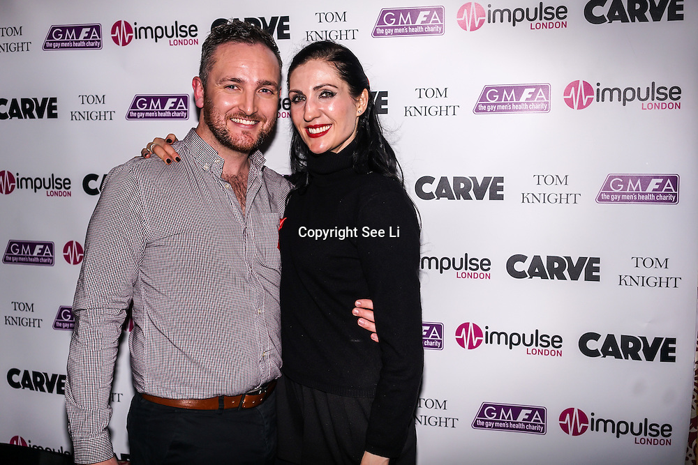 Laura Nadia Hunt,Richard Cooper takes the stage at Muse in Soho for one night to help raise money for GMFA – The gay men's health charity and their HIV prevention and stigma-challenging work on 1st December 2016 in Soho,London,UK. Photo by See Li