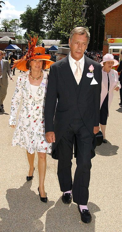 HENRY CECIL and     at the 3rd day - Ladies Day of Roayl Ascot 2006 on 22nd June 2006.<br /><br />NON EXCLUSIVE - WORLD RIGHTS