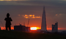 2017-11-30 Primrose Hill sunrise