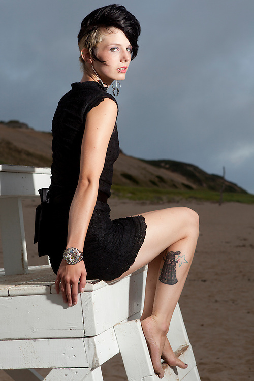 Fashion shoot for Etchin Collection. Hair and Makeup by Beauty in Motion.