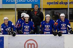 Head Coach of Slovenia Matjaz Kopitar during ice-hockey match between Slovenia and Norway in European Ice Hockey Challenge, on December 17, 2010 at Podmezaklja hall, Ljubljana, Slovenia. (Photo By Matic Klansek Velej / Sportida.com)