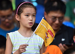 28-08-2015 CHN: IAAF World Championships Athletics day 7, Beijing<br /> High jump Decathlon / Chinese supporter<br /> Photo by Ronald Hoogendoorn / Sportida