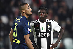 March 8, 2019 - Turin, Italy - Juventus forward Moise Kean (18) during the Serie A football match n.27 JUVENTUS - UDINESE on 08/03/2019 at the Allianz Stadium in Turin, Italy. (Credit Image: © Matteo Bottanelli/NurPhoto via ZUMA Press)