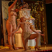 Flapper Tappers preforms at the London Burlesque Festival the VIP Opening Gala at Conway Hall on 18th May 2017, UK. by See Li